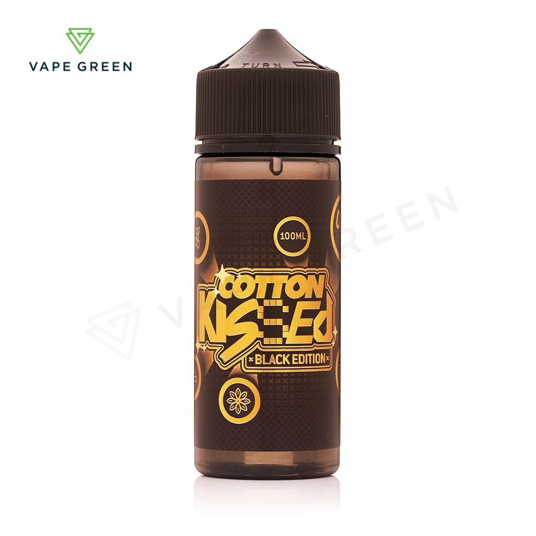 Black Edition E-liquid by Cotton Kissed 100ml
