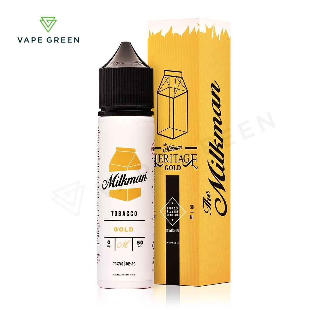 Gold E-Liquid by The Milkman Heritage 50ml