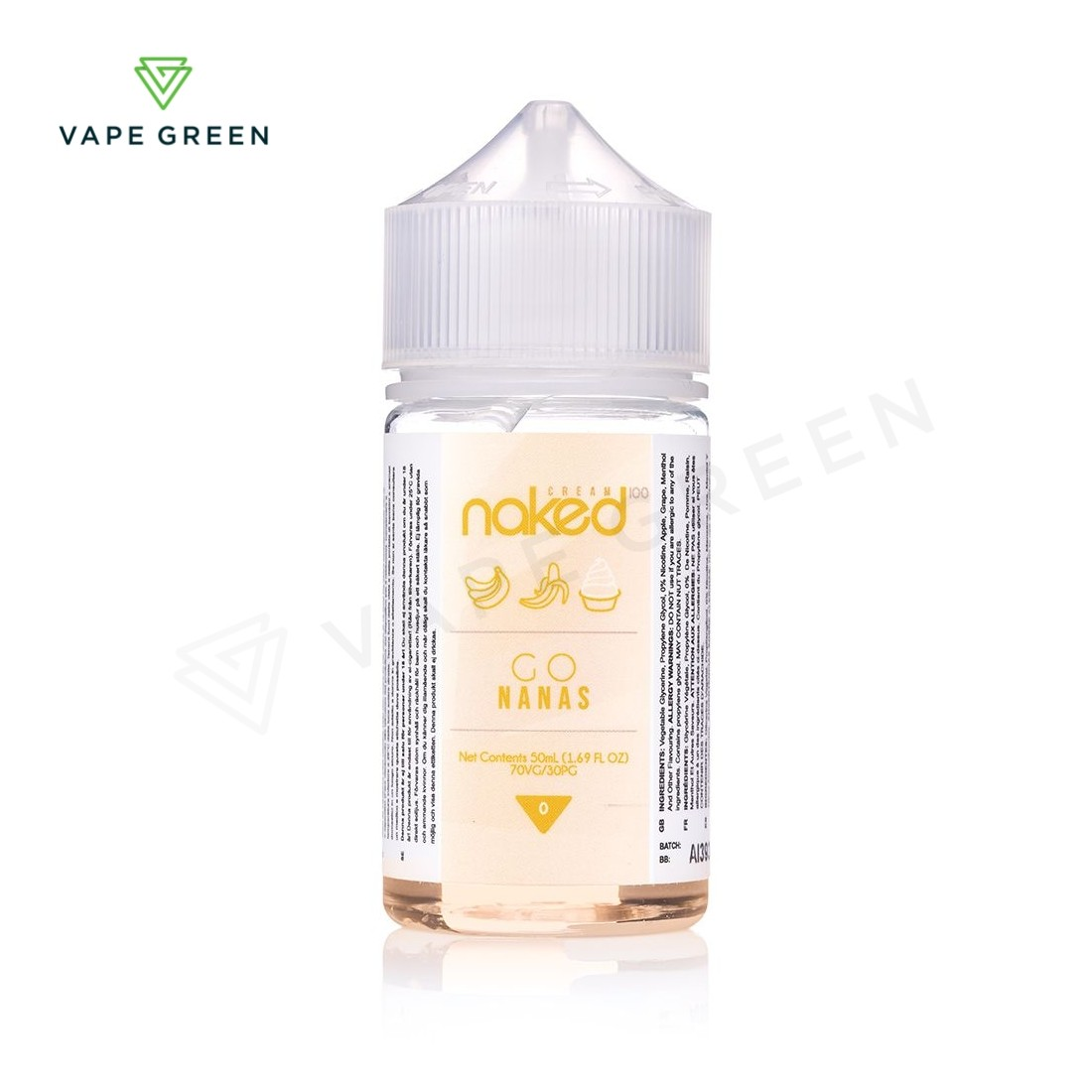 Go Nanas E-liquid by Naked 100 - 50ml