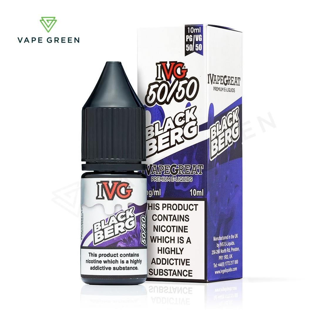 Blackberg E-Liquid by IVG Menthol 50/50