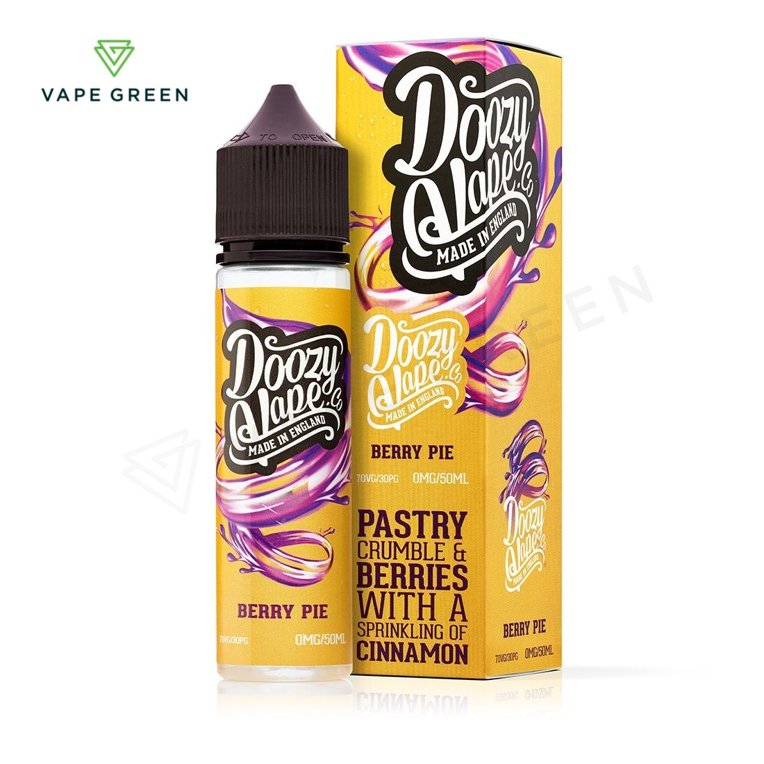 Berry Pie E-liquid by Doozy Vape Co 50ml