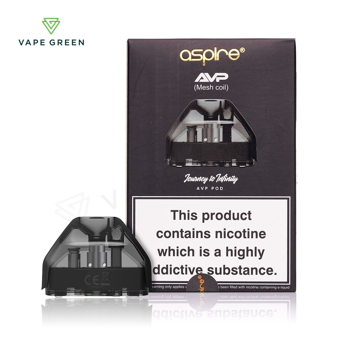 Aspire AVP Replacement Pods - 2 Pack