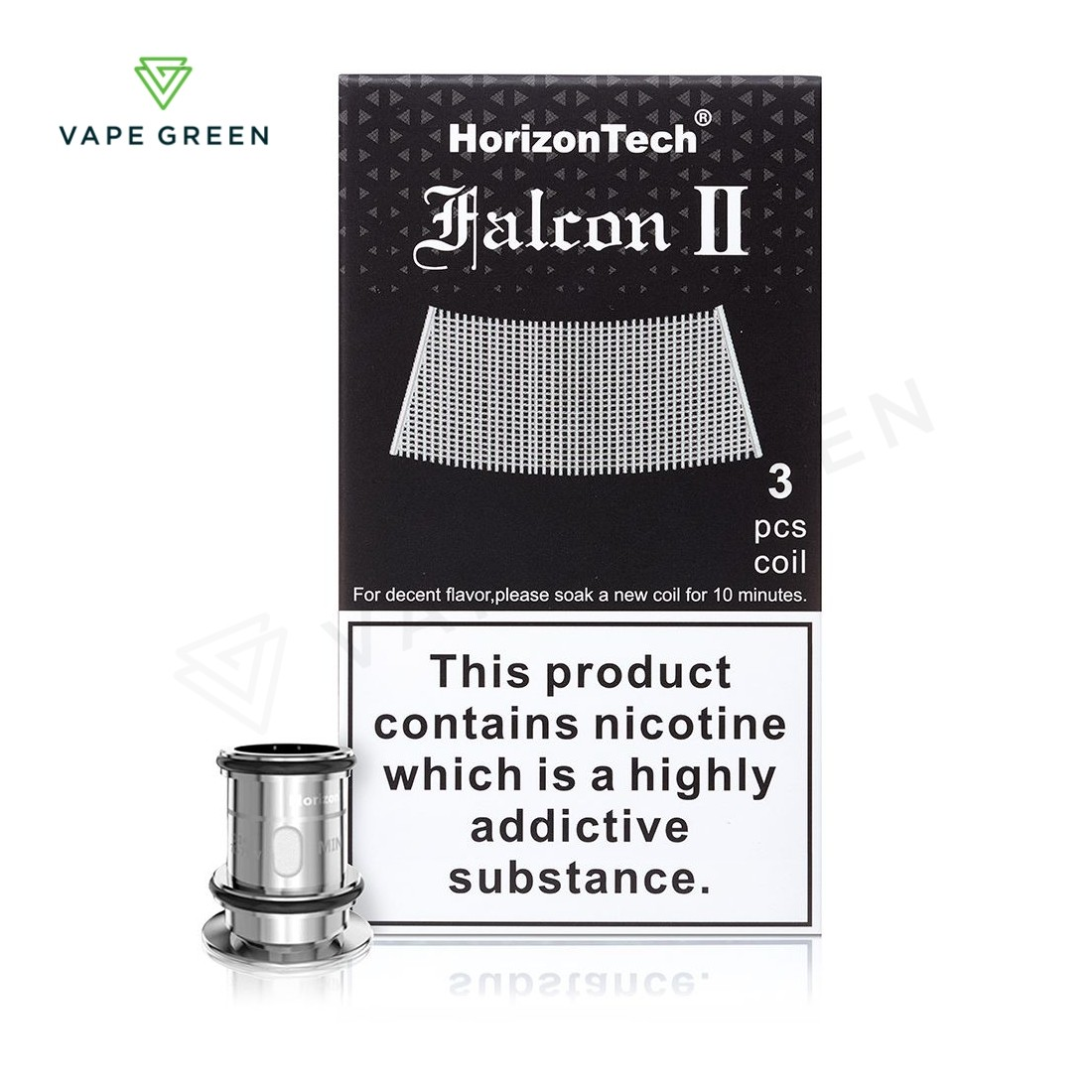 HorizonTech Falcon 2 Sector Replacement Coils - 3 Pack