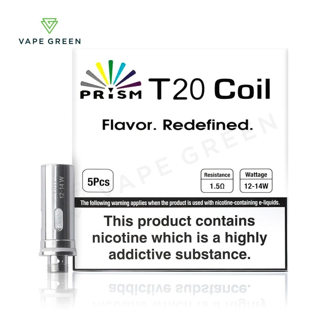 Innokin Endura T20 Coils 1.5 ohm (5 Pack)