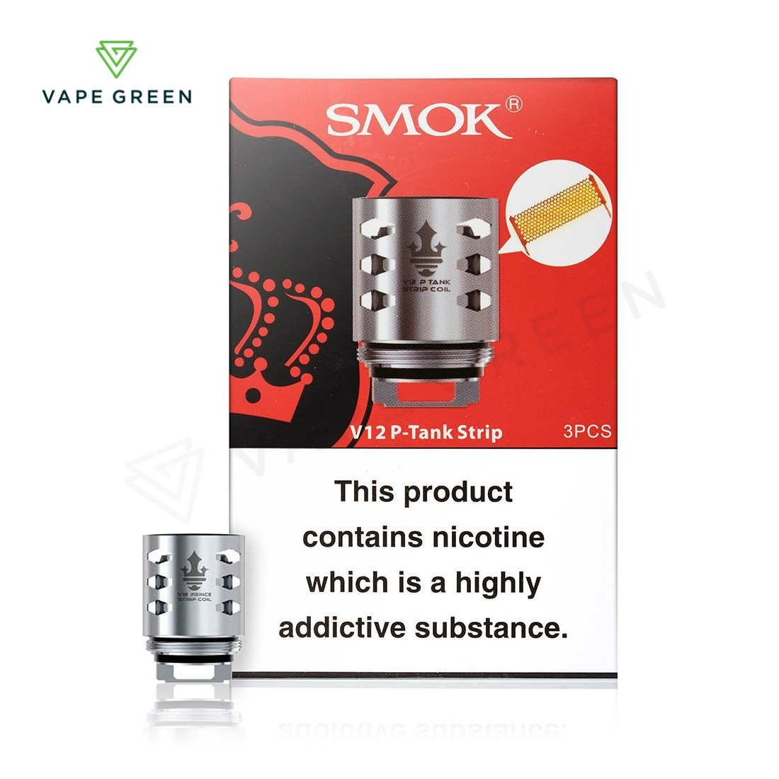 Smok TFV12 Replacement Coils - (3 Pack)