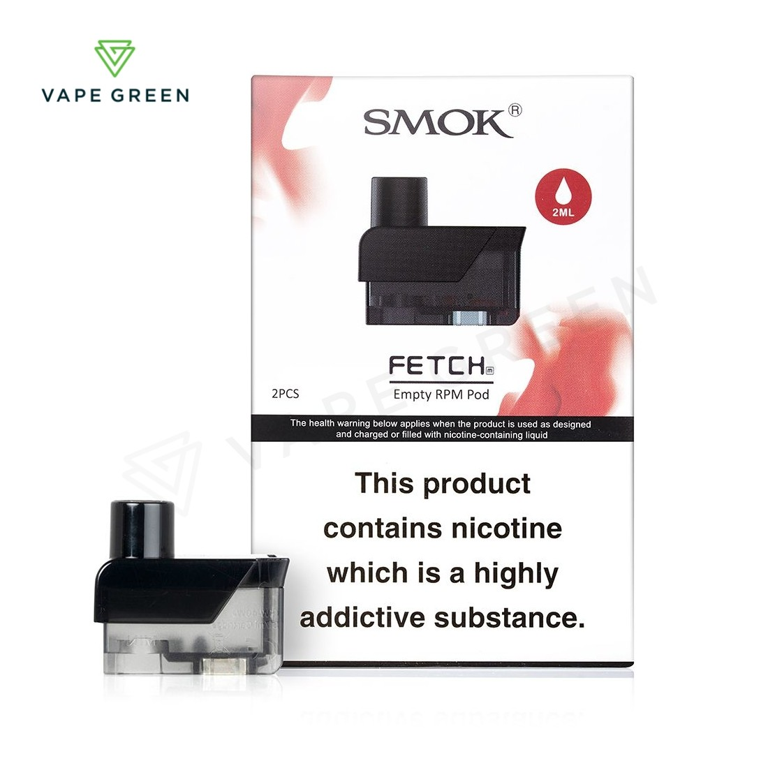 Smok Fetch Replacement Pods - 2 Pack