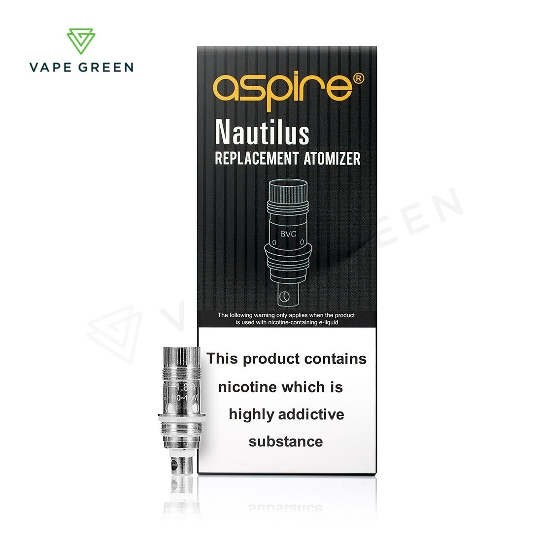 Aspire Nautilus Replacement Coils BVC - (5 Pack)