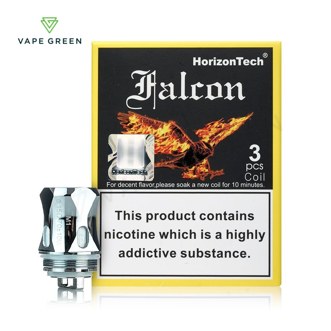 HorizonTech Falcon Replacement Coils - (3 Pack)