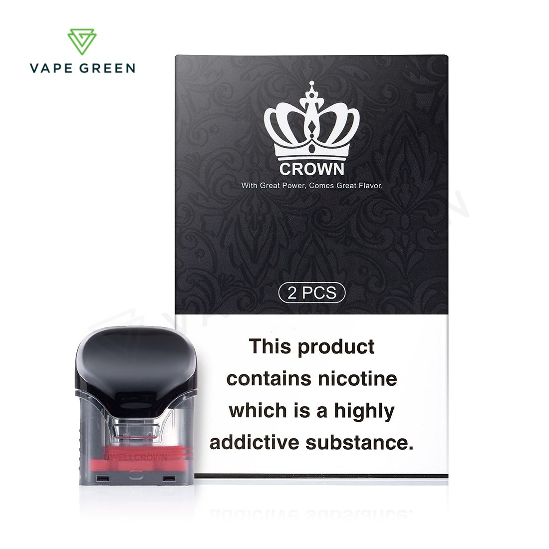Uwell Crown Replacement Pods - 2 Pack