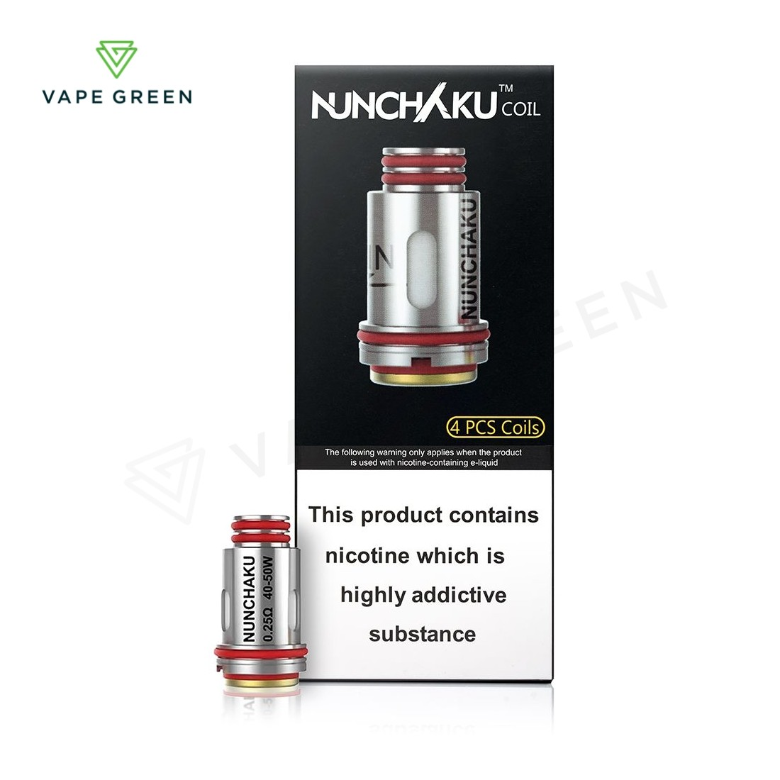 Uwell Nunchaku Replacement Coils (4 Pack)