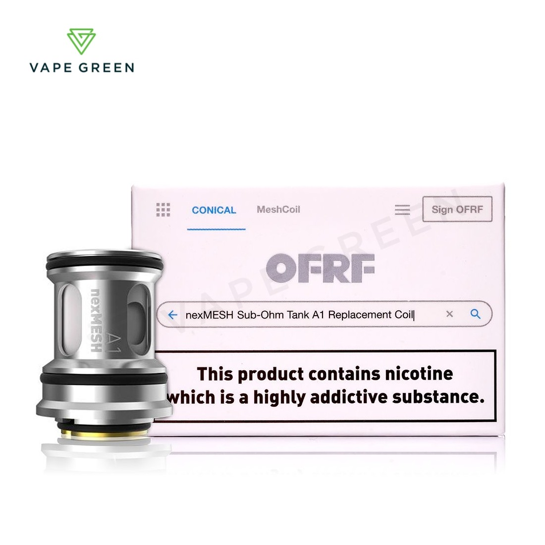 OFRF nexMESH Replacement Coils - 2 Pack