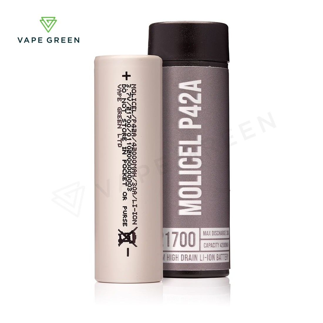 Molicel P42A 21700 4200mAh (30A) Mod Battery