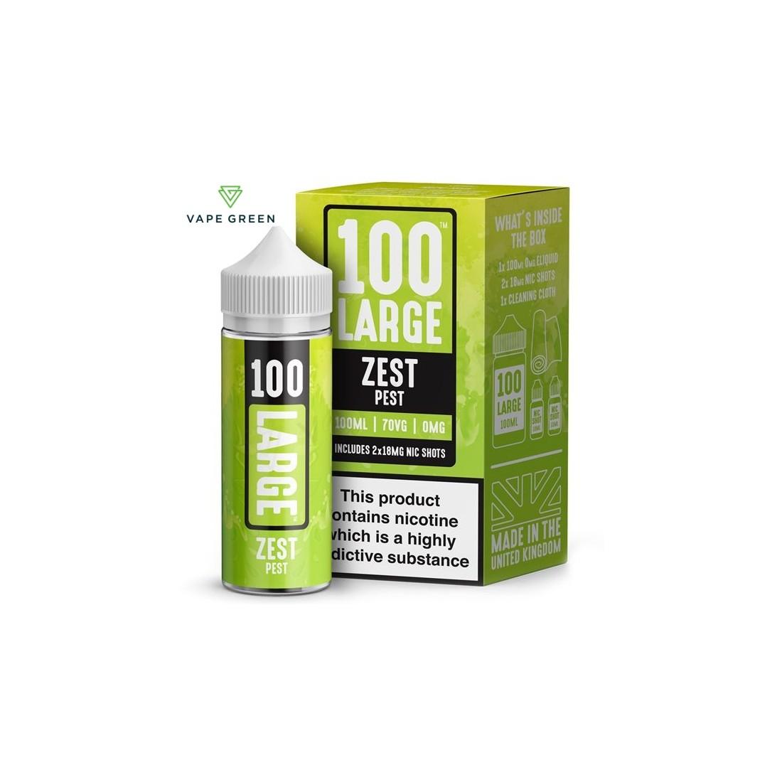 Zest Pest E-Liquid by 100 Large