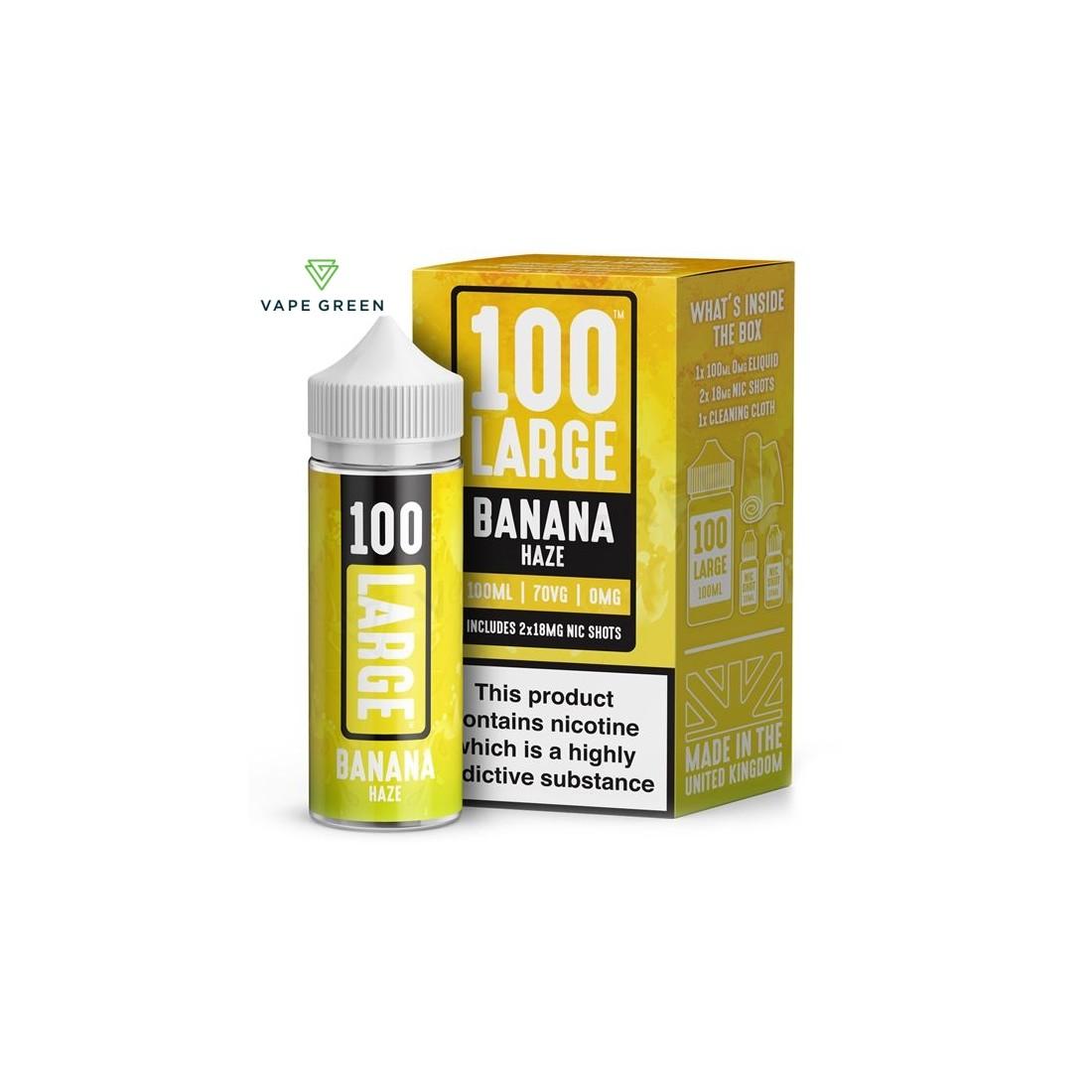 Banana Haze E-Liquid by 100 Large