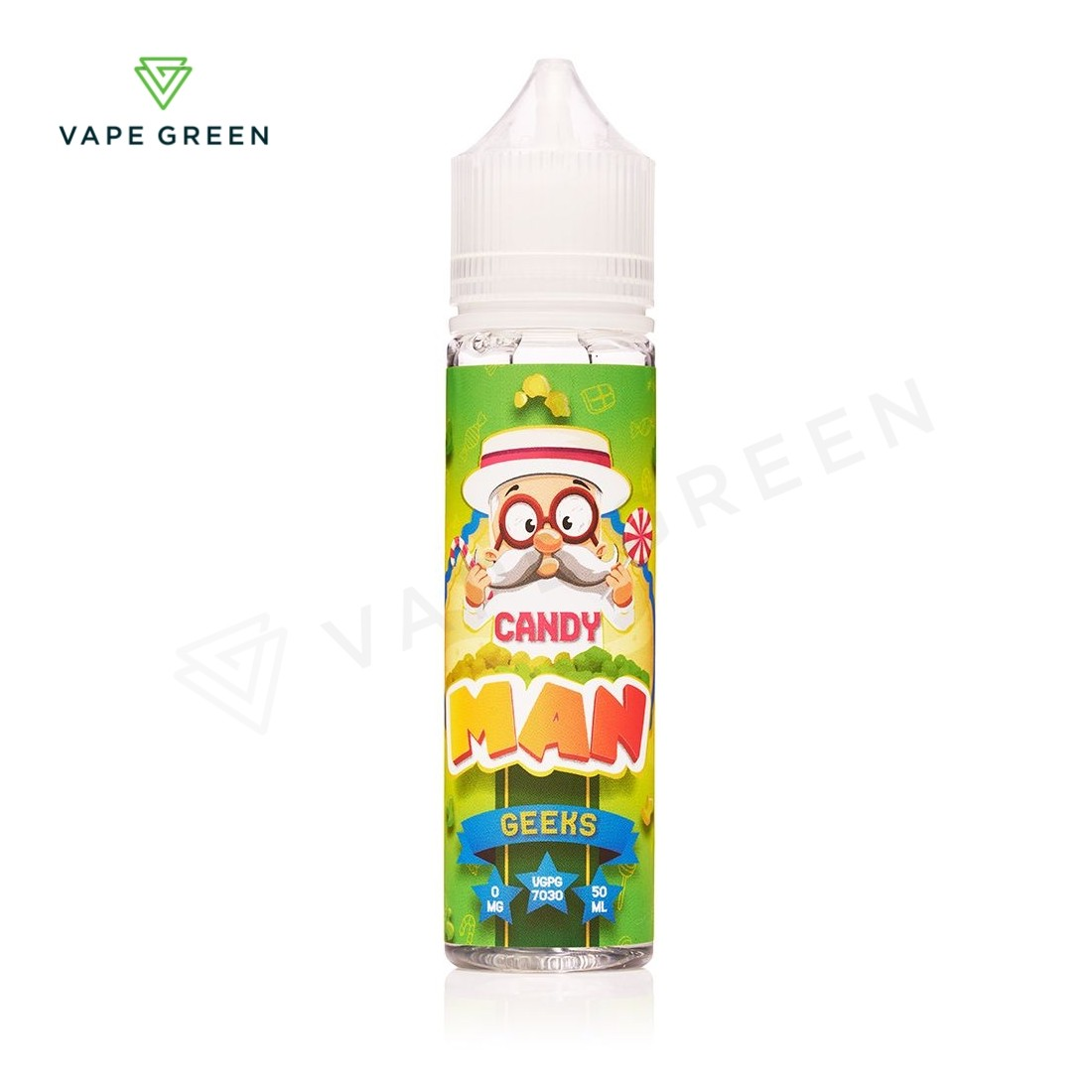 Geeks E-Liquid by Candy Man 50ml