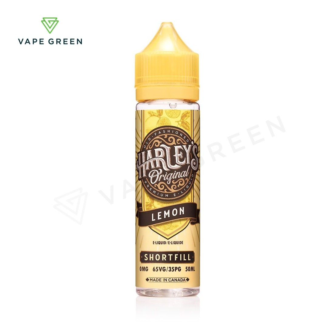 Lemon E-Liquid by Harley's Original 50ml