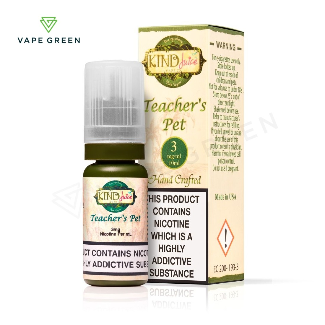 Teacher's Pet E-Liquid by Kind Juice