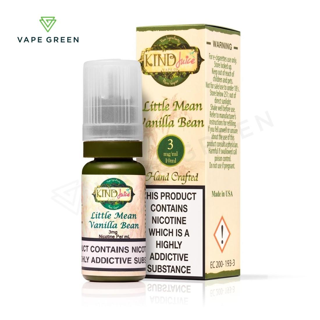 Little Mean Vanilla Bean E-Liquid by Kind Juice