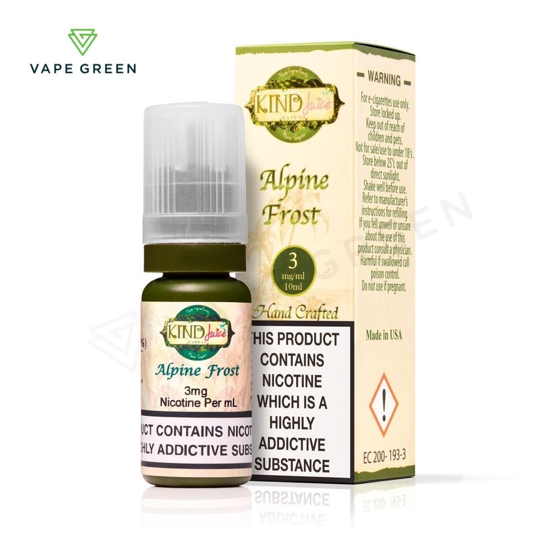 Alpine Frost E-Liquid by Kind Juice