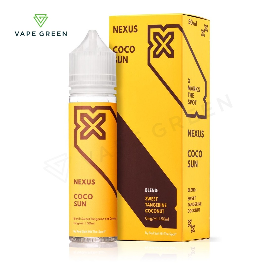 Coco Sun E-Liquid by Nexus Shortfill 50ml