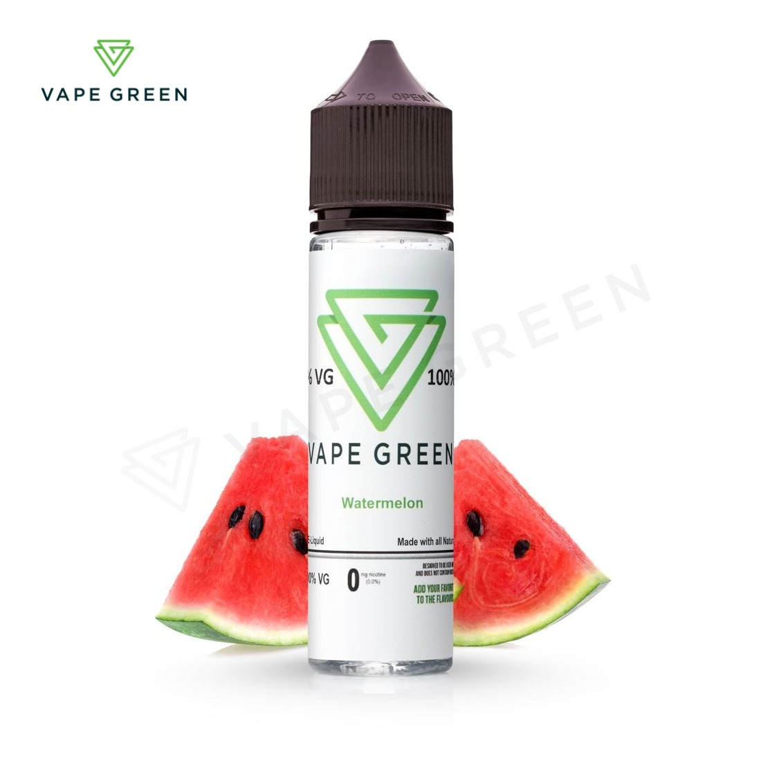 Watermelon E-Liquid by VapeGreen 50ml