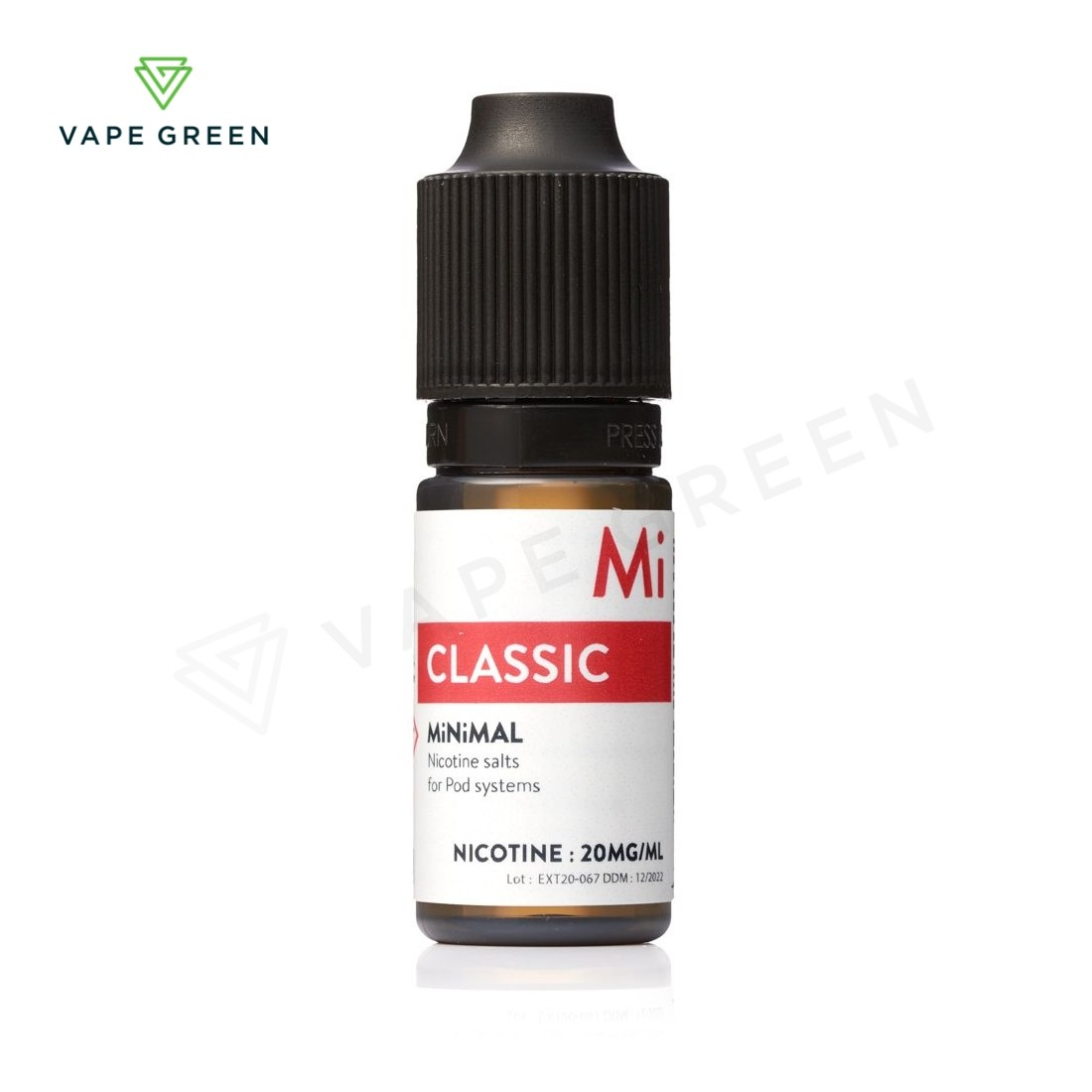 Classic E-Liquid by MiNiMAL Nic Salt