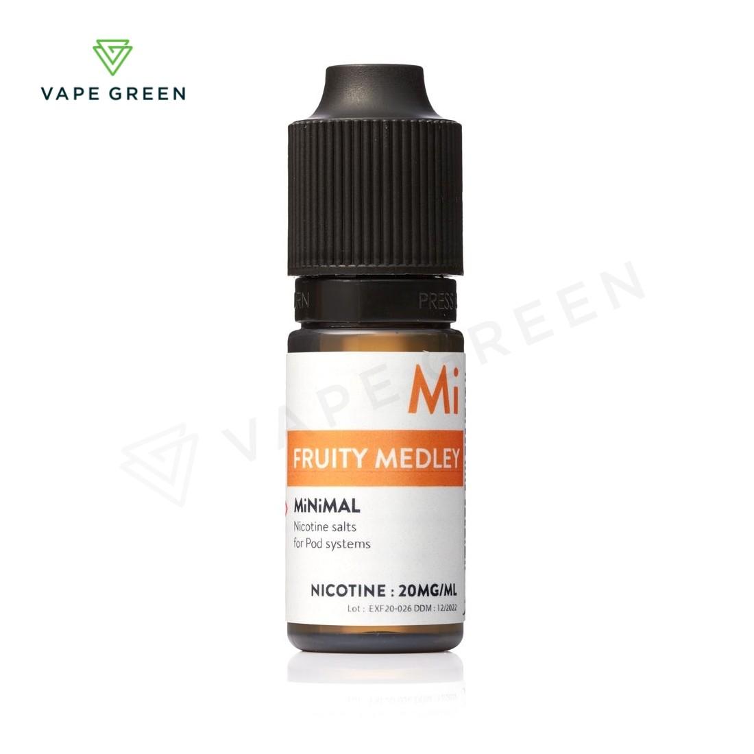 Fruity Medley Nic Salt E-Liquid by MiNiMAL