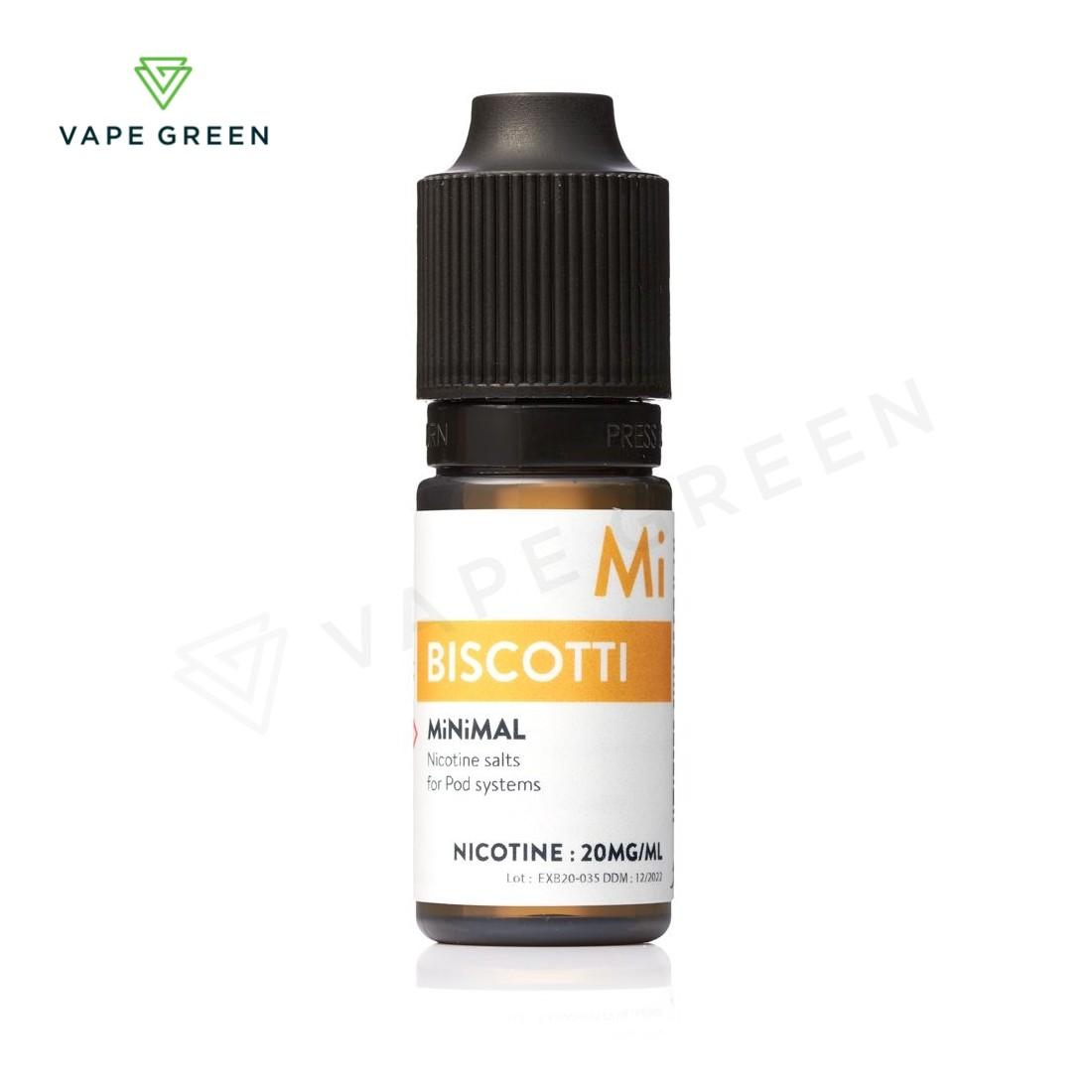 Biscuit E-Liquid by MiNiMAL Nic Salt