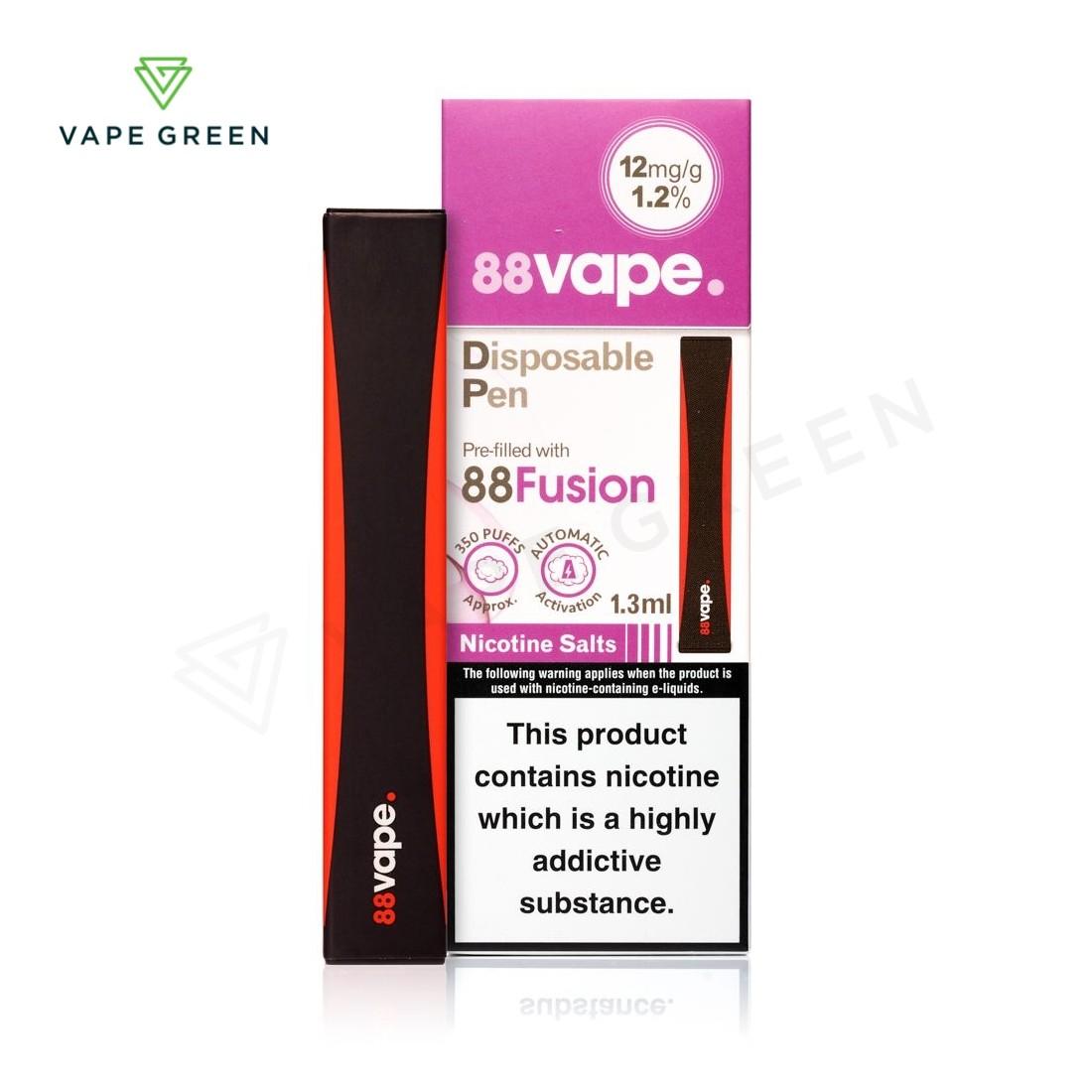 88Fusion by 88Vape Disposable Vape Pen