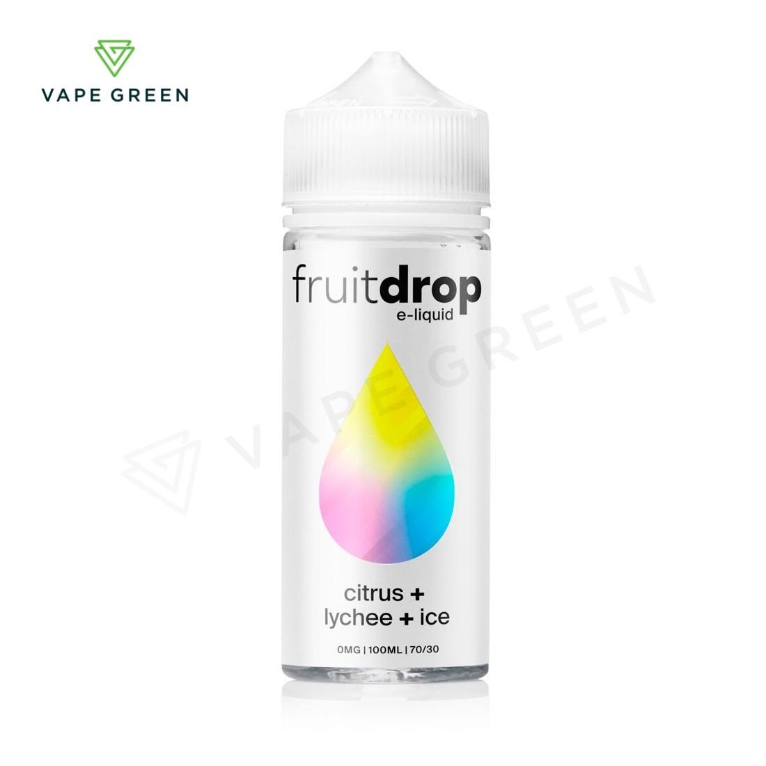 Citrus + Lychee + Ice E-liquid by Fruit Drop 100ml
