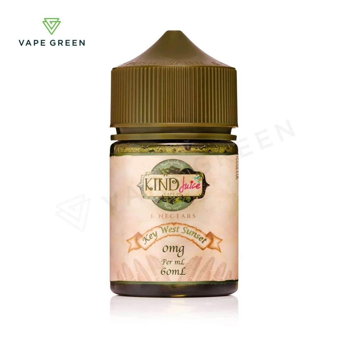Key West Sunset E-Liquid by Kind Juice 50ml Shortfill