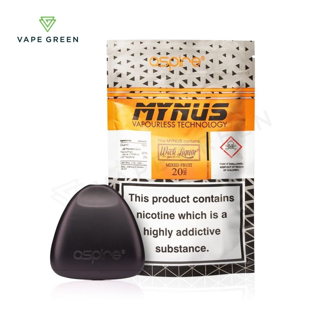 Mixed Fruit by Aspire Mynus Vaporless Disposable Pod Kit