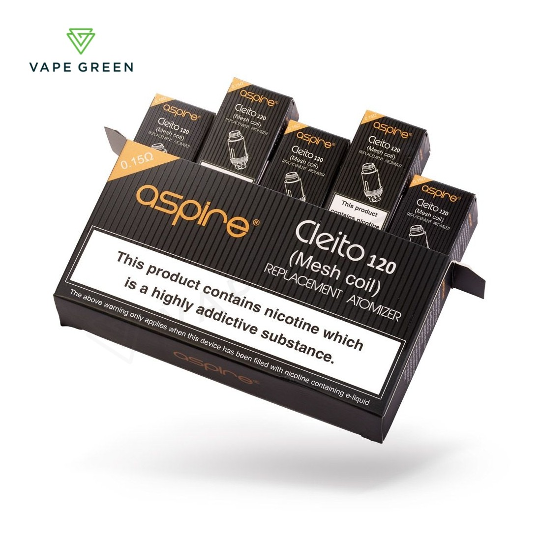 Aspire Cleito 120 Replacement Mesh Coils