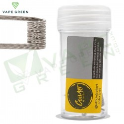 C2 - 0.3ohm Handmade Alien Coils (3 x 28 Wrapped 36g) Ni80 by CoilArt