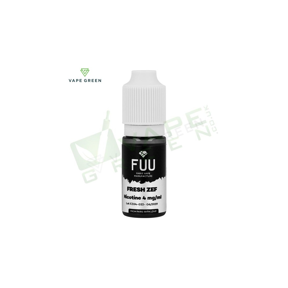 Fresh Zef eLiquid by The Fuu Original SIlver