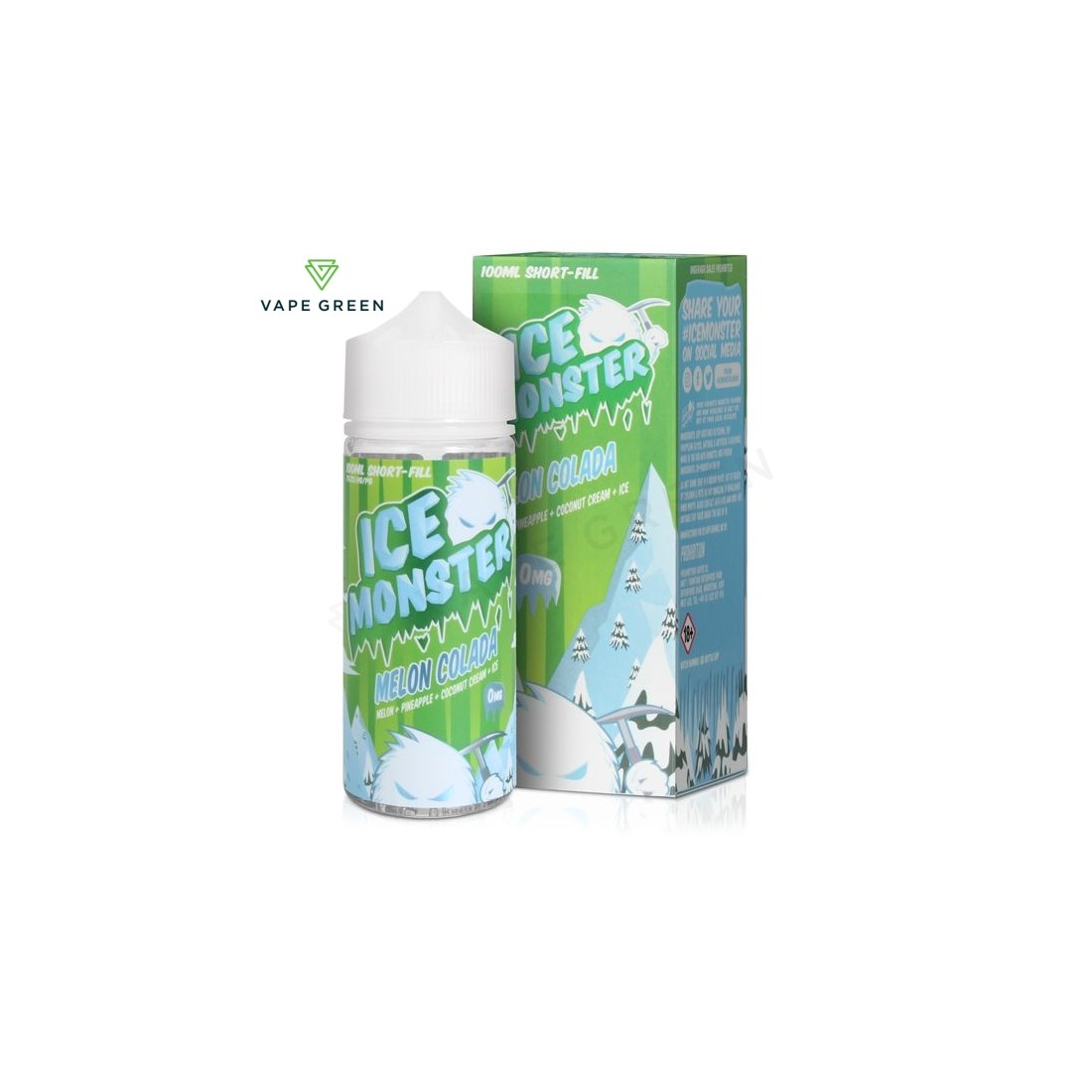Melon Colada E-Liquid by Ice Monster 100ml