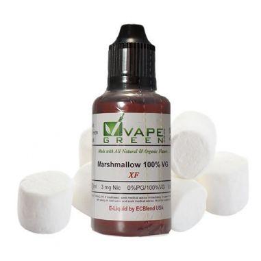 VapeGreen - Organic Marshmallow E-Liquid 100% VG