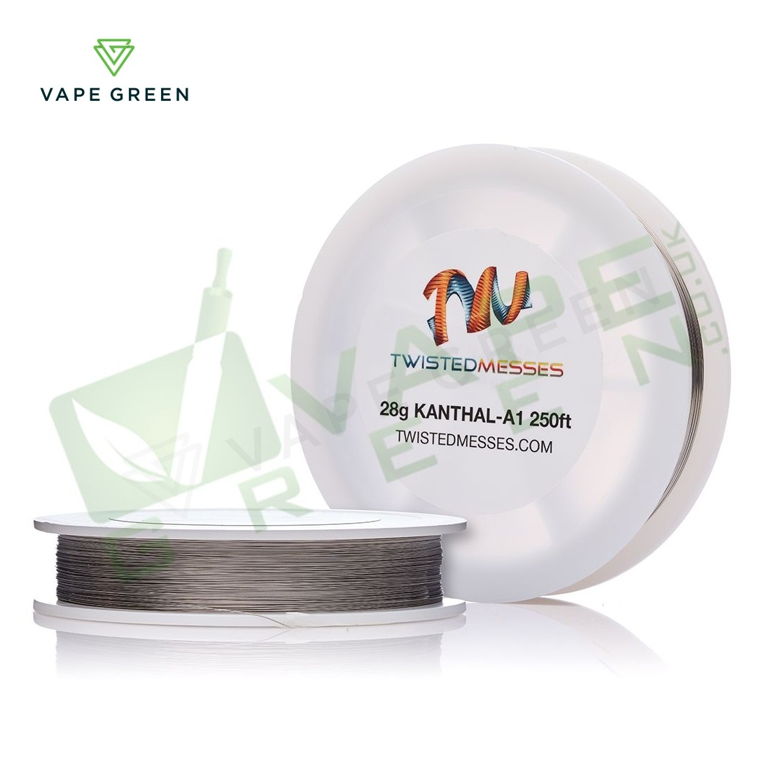 Kanthal A1 Wire by Twisted Messes 28AWG - 250ft