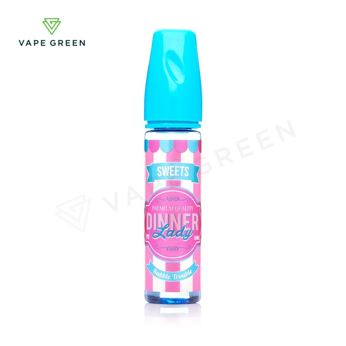 Bubble Trouble E-Liquid by Dinner Lady Sweets 50ml