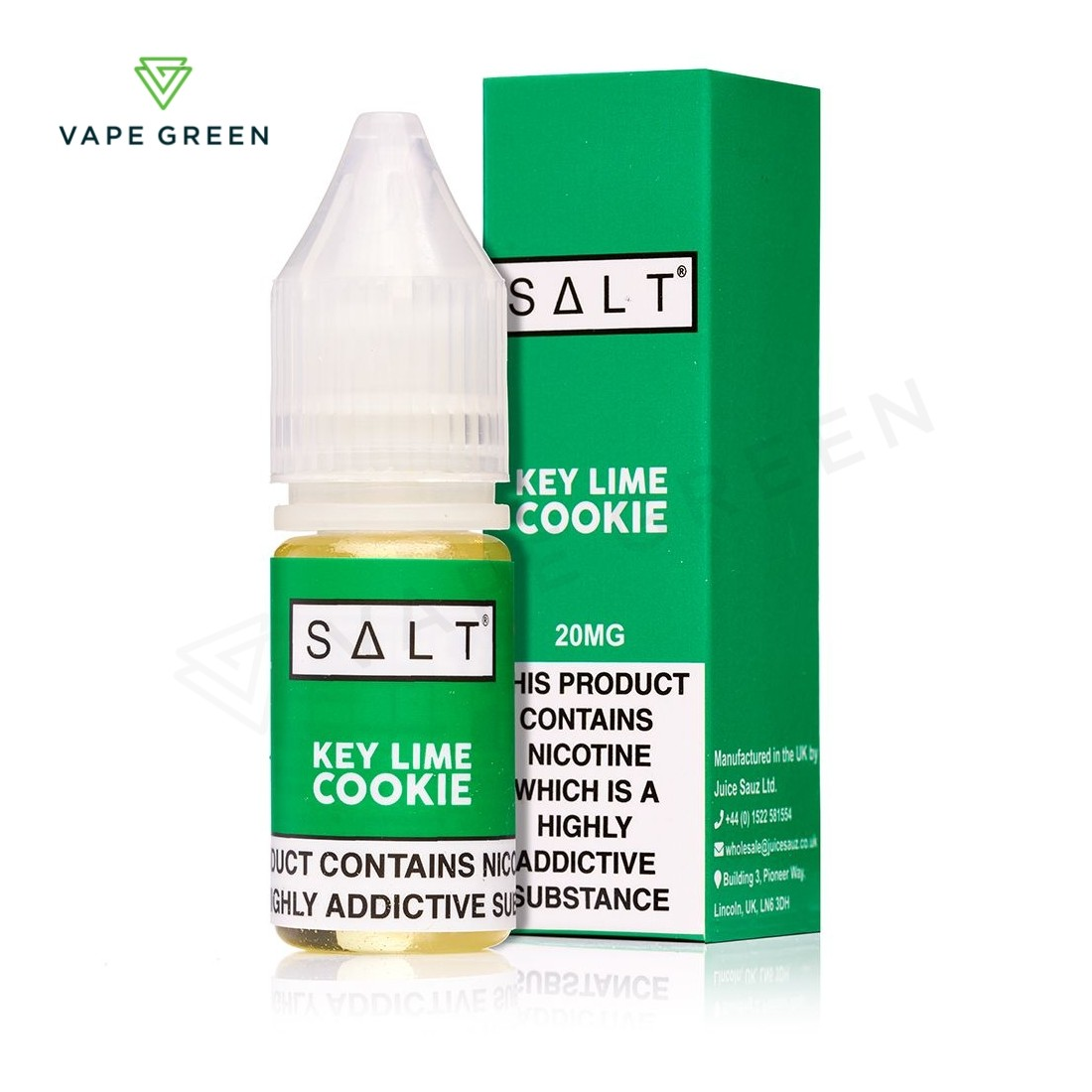 Key Lime Cookie eLiquid by SALT