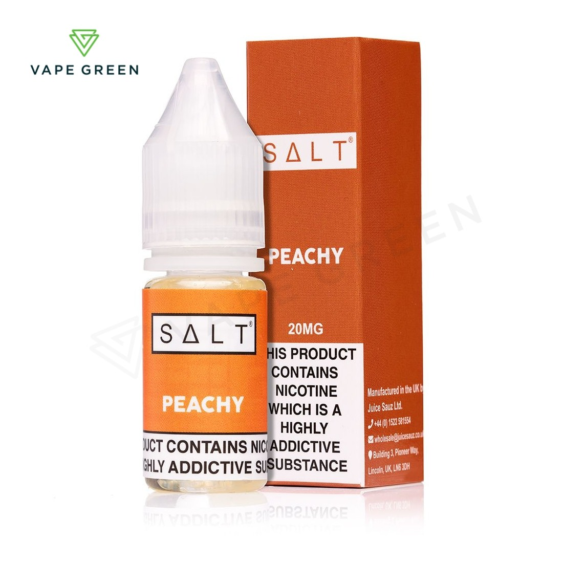 Peachy eLiquid by SALT