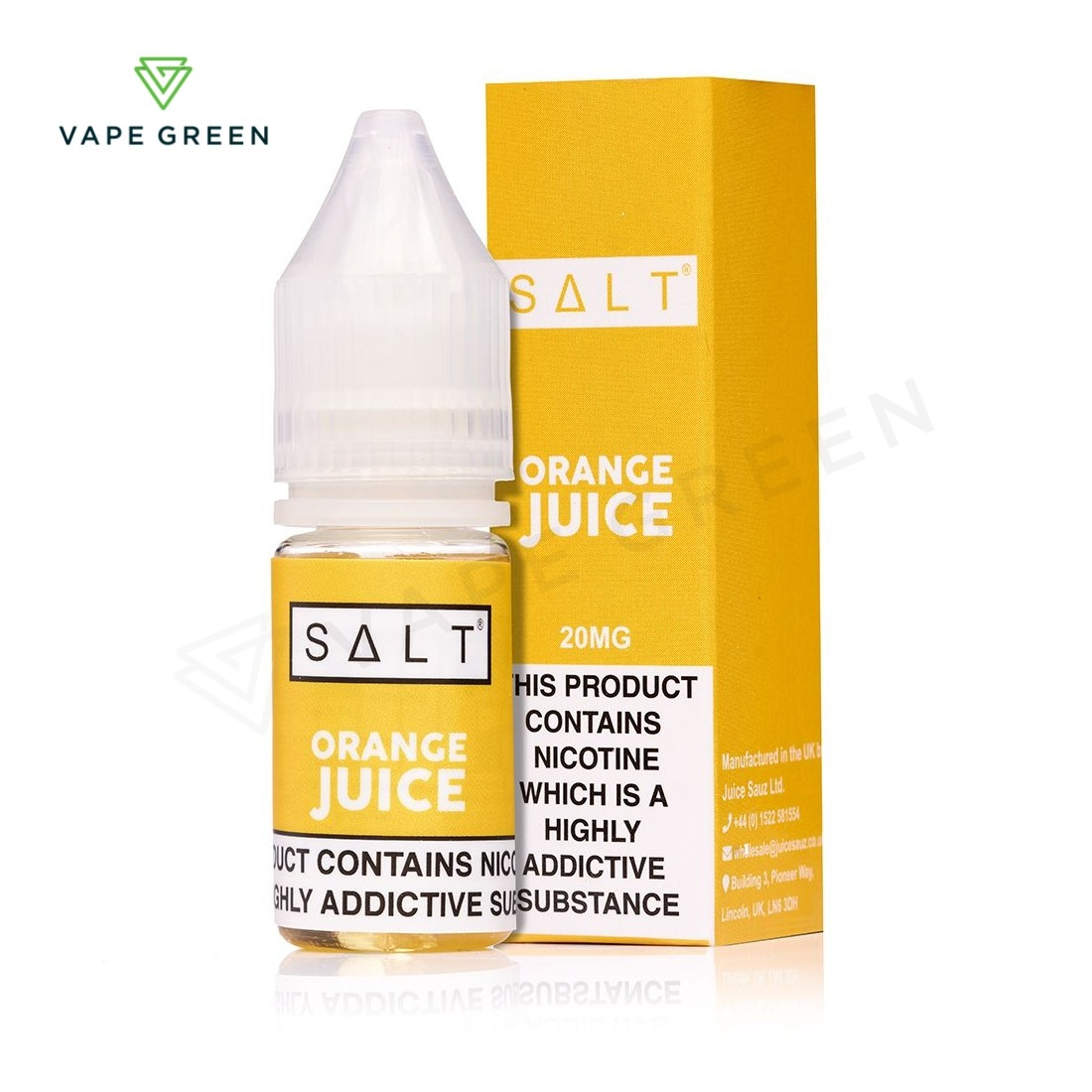Orange Juice eLiquid by SALT