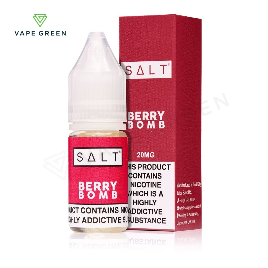 Berry Bomb eLiquid by SALT