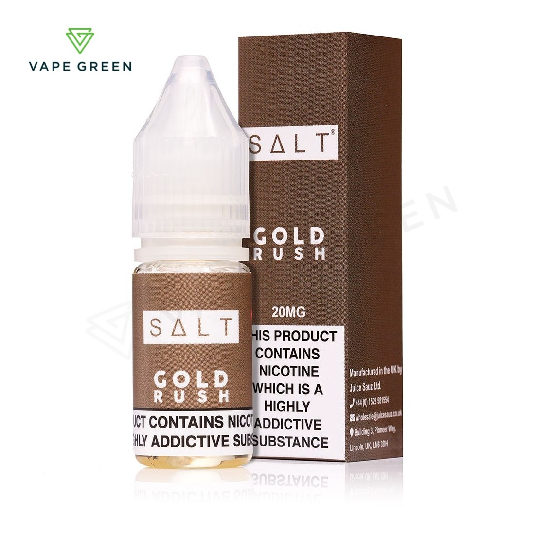 Gold Rush eLiquid by SALT