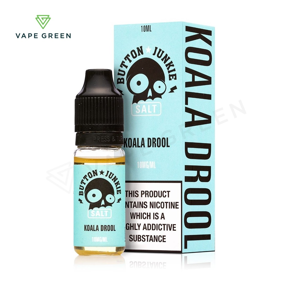 Koala Drool E-Liquid by Button Junkie Nic Salt