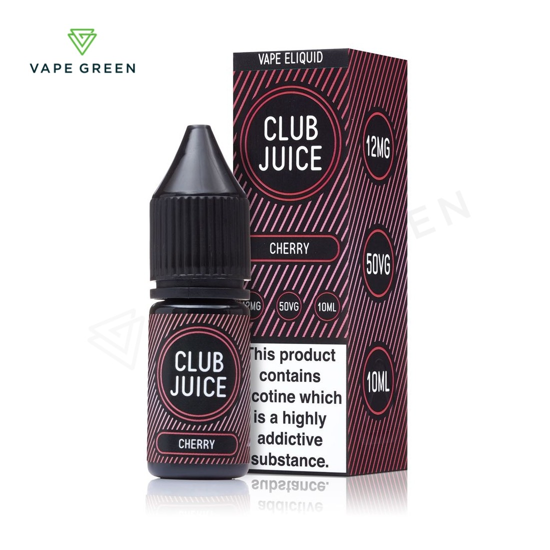 Cherry E-Liquid by Club Juice 50/50