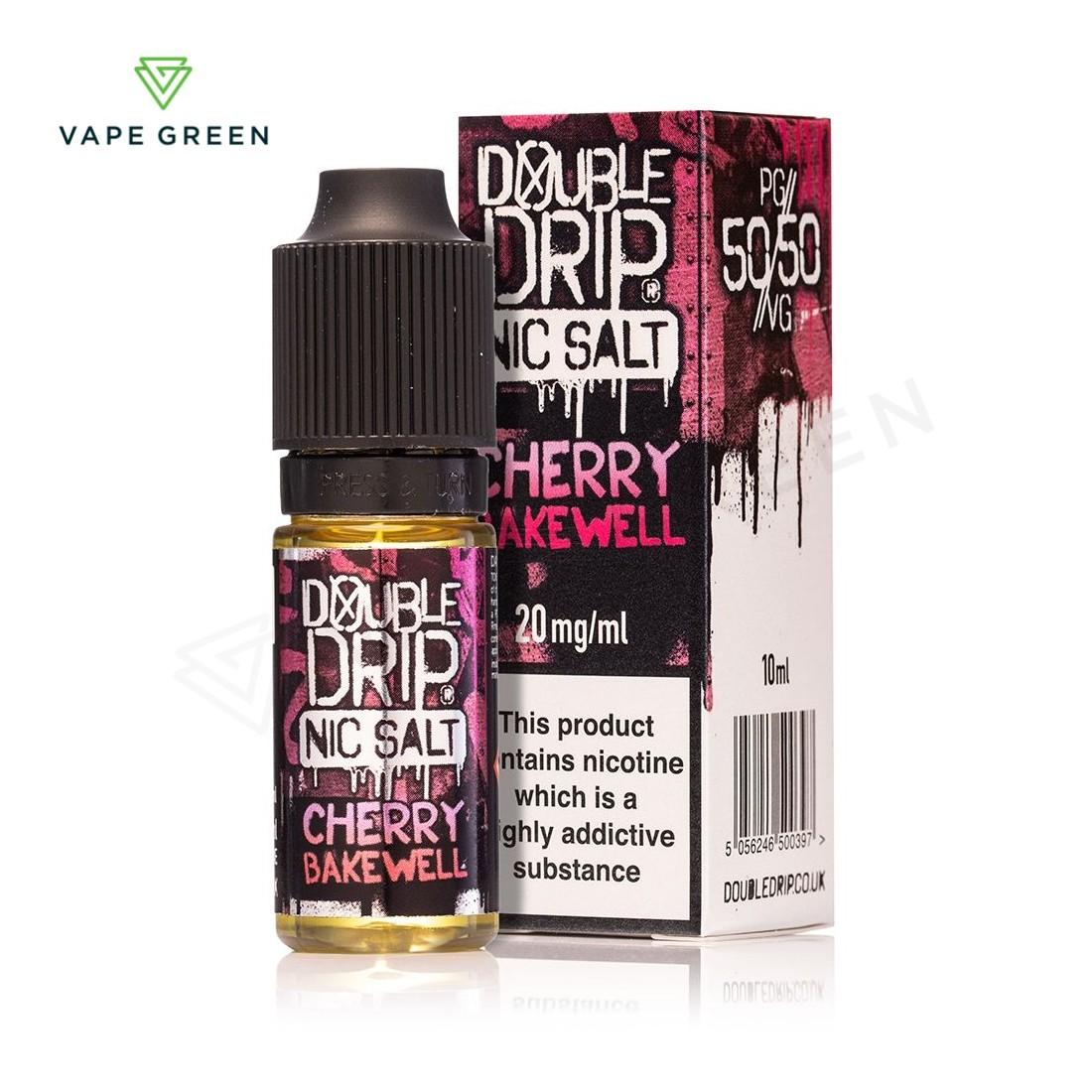 Cherry Bakewell eLiquid by Double Drip Nic Salt