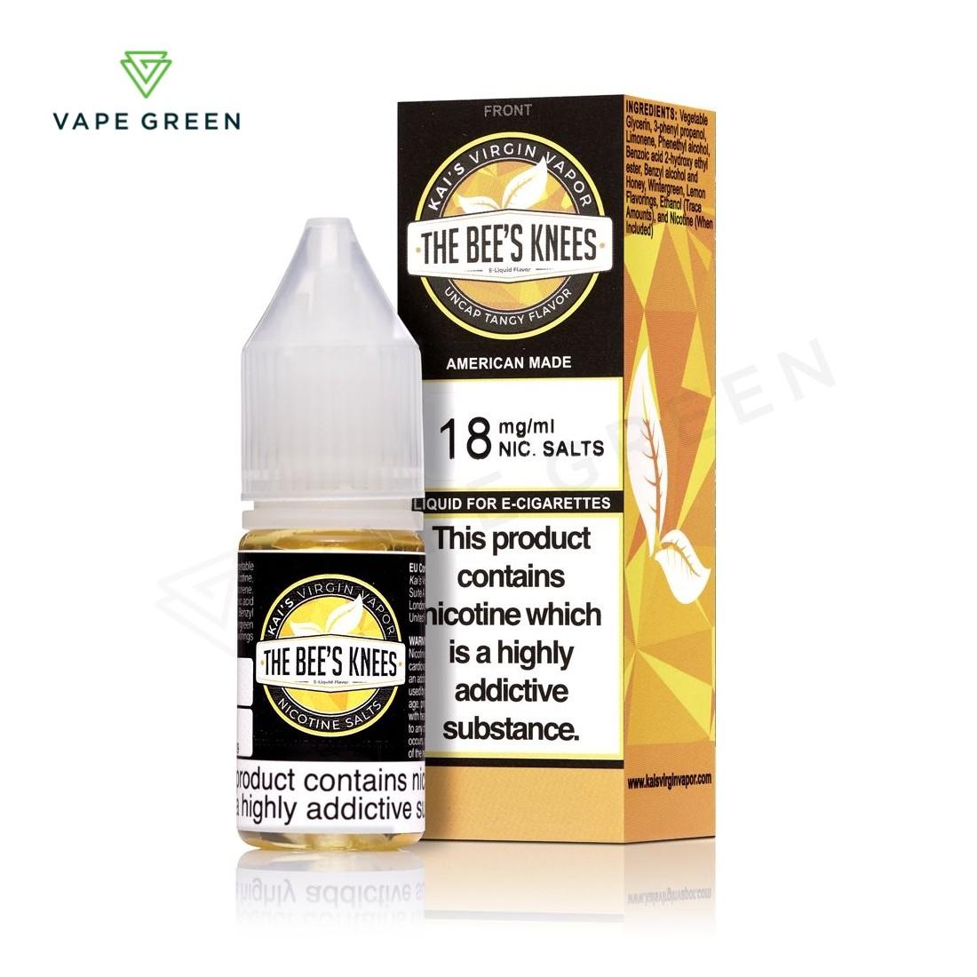 The Bee's Knees E-liquid by Kai's Virgin Vapor SALTS