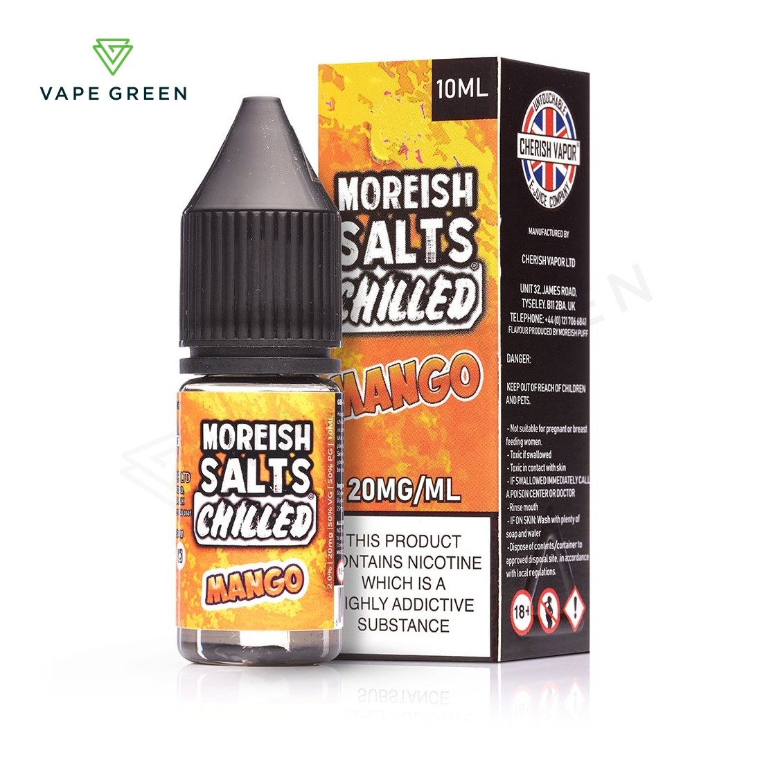 Mango Chilled E-Liquid by Moreish Salts