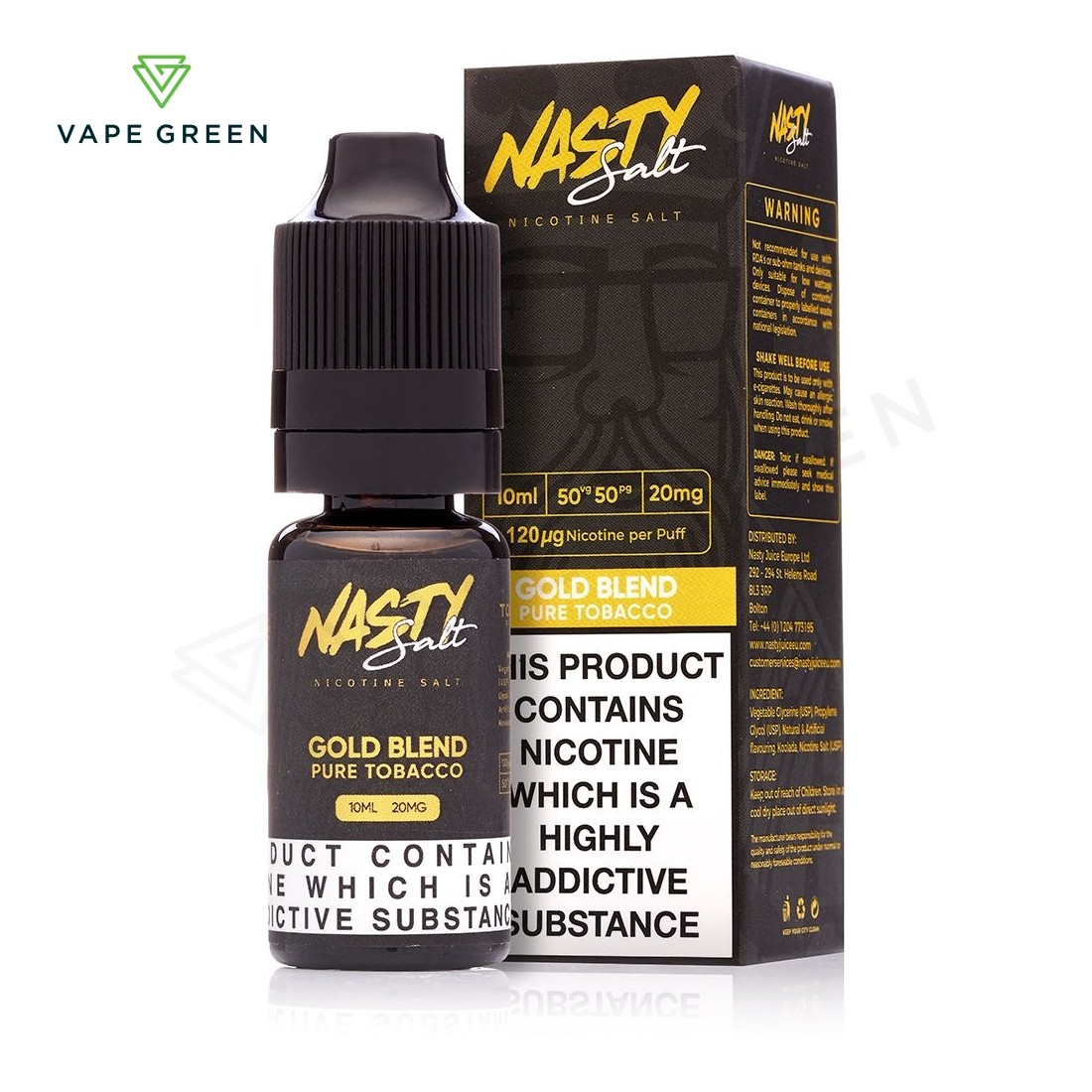 Gold Blend eLiquid by Nasty Salt